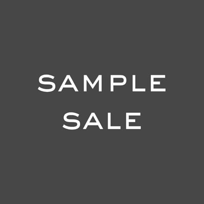 NEW YEAR SAMPLE SALE